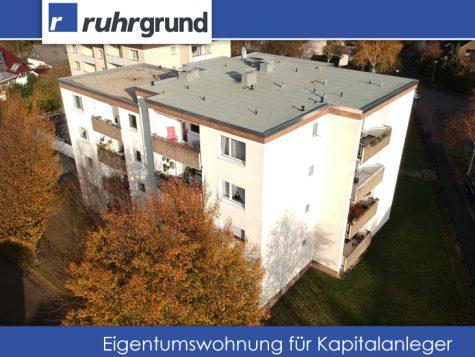 Vermietete Eigentumswohnung mit Garage in ruhiger Lage für Kapitalanleger!, 58454 Witten, Dachgeschosswohnung