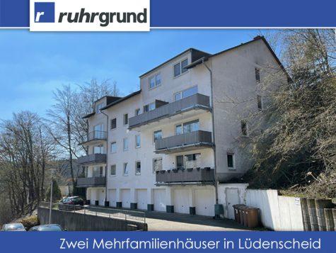 Zwei Mehrfamilienhäuser in Lüdenscheid, Baujahr 1995, nur € 1393/m², 58513 Lüdenscheid, Mehrfamilienhaus
