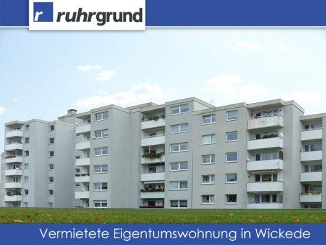 Vermietete Eigentumswohnung für Kapitalanleger!, 44319 Dortmund / Wickede, Etagenwohnung