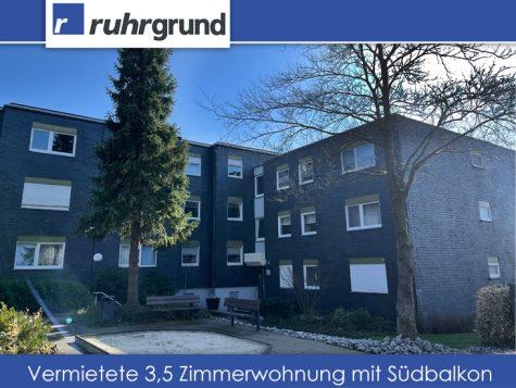 Vermietete 3,5 Zimmerwohnung mit Südbalkon in der Aplerbecker Mark!, 44287 Aplerbecker Mark, Etagenwohnung